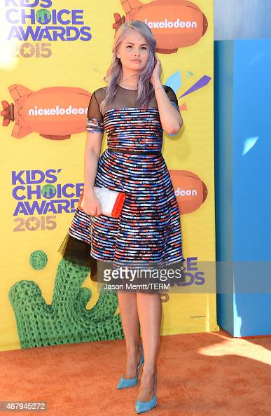 Actress Debby Ryan attends Nickelodeon's 28th Annual Kids' Choice Awards held at The Forum on March 28 2015 in Inglewood California