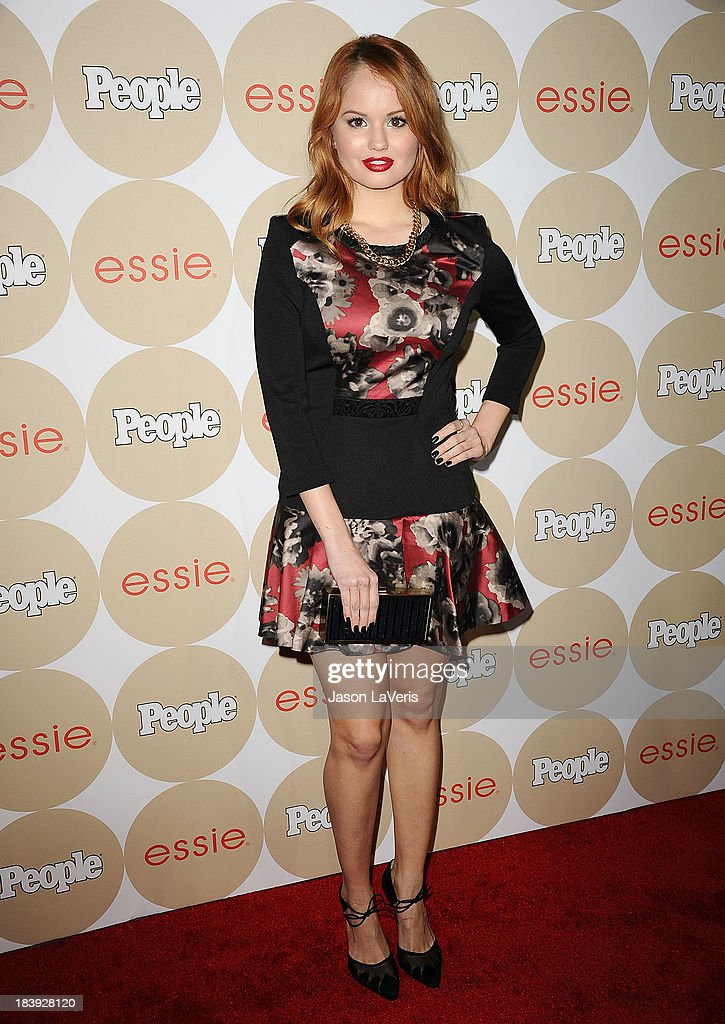 Actress <a gi-track='captionPersonalityLinkClicked' href=/galleries/search?phrase=Debby+Ryan&family=editorial&specificpeople=5443414 ng-click='$event.stopPropagation()'>Debby Ryan</a> attends People's 'Ones To Watch' party at Hinoki & the Bird on October 9, 2013 in Los Angeles, California.