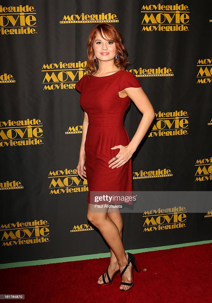 Actress Debby Ryan attends the 21st annual Movieguide Awards at Hilton Universal City on February 15, 2013 in Universal City, California.