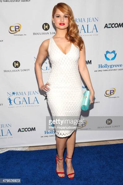Actress Debby Ryan attends the 2nd Annual Norma Jean Gala at The Paley Center for Media on March 18 2014 in Beverly Hills California