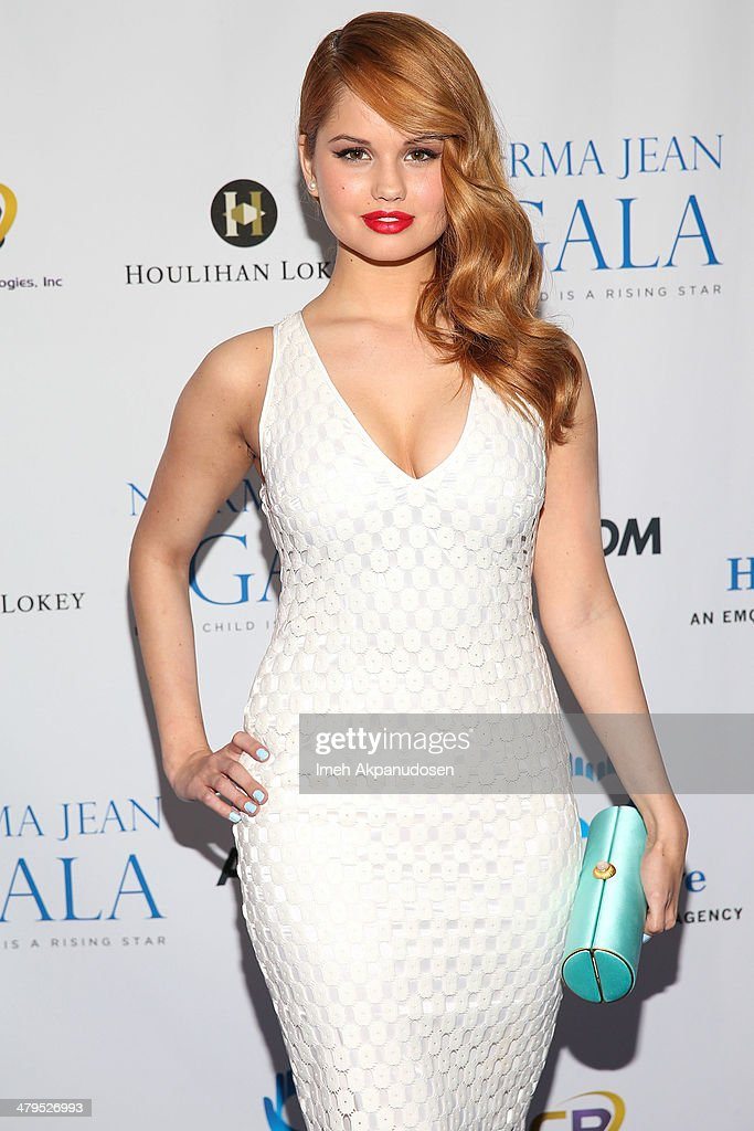 Actress Debby Ryan attends the 2nd Annual Norma Jean Gala at The Paley Center for Media on March 18, 2014 in Beverly Hills, California.