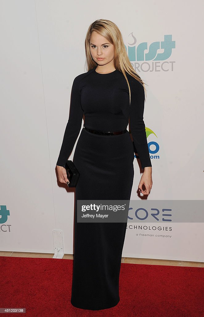 Actress <a gi-track='captionPersonalityLinkClicked' href=/galleries/search?phrase=Debby+Ryan&family=editorial&specificpeople=5443414 ng-click='$event.stopPropagation()'>Debby Ryan</a> attends the 5th Annual Thirst Gala hosted by Jennifer Garner in partnership with Skyo and Relativity's 'Earth To Echo' on June 24, 2014 at the Beverly Hilton Hotel in Beverly Hills, California.