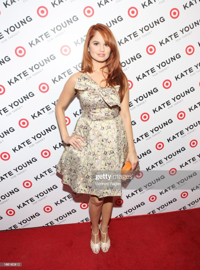 Actress Debby Ryan attends the Kate Young For Target Launch at The Old School NYC on April 9, 2013 in New York City.
