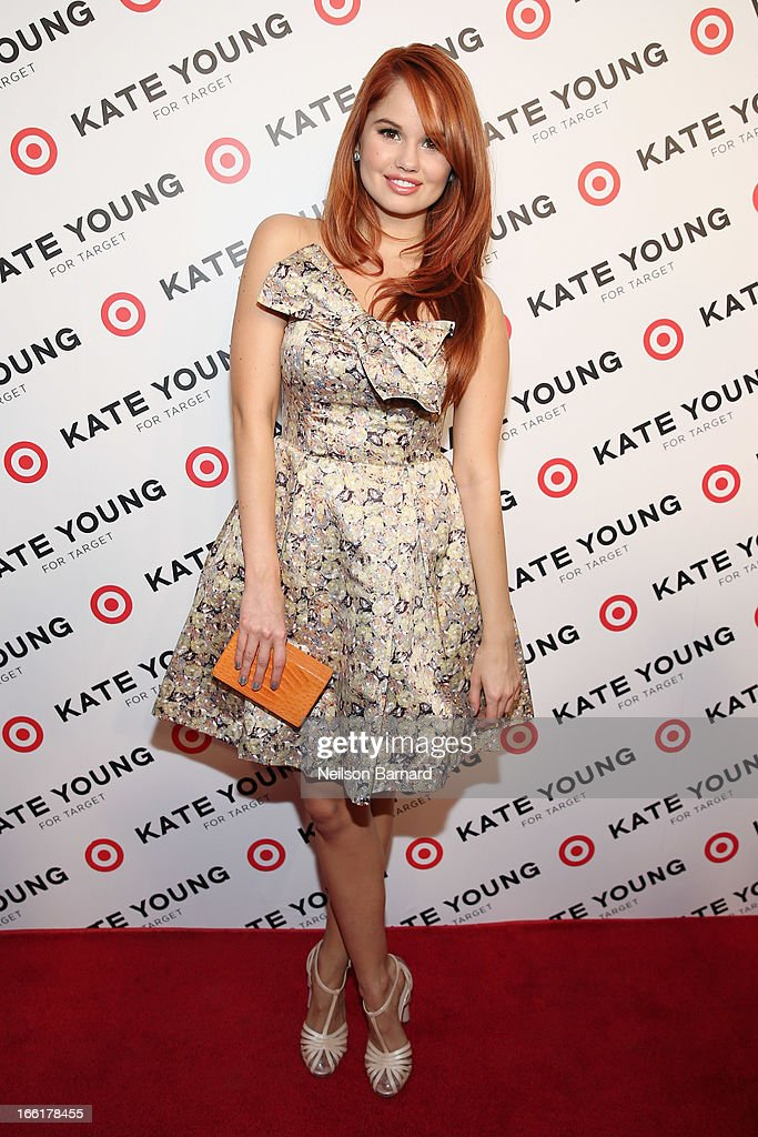Actress Debby Ryan attends the Kate Young for Target launch event on April 9, 2013 in New York City.