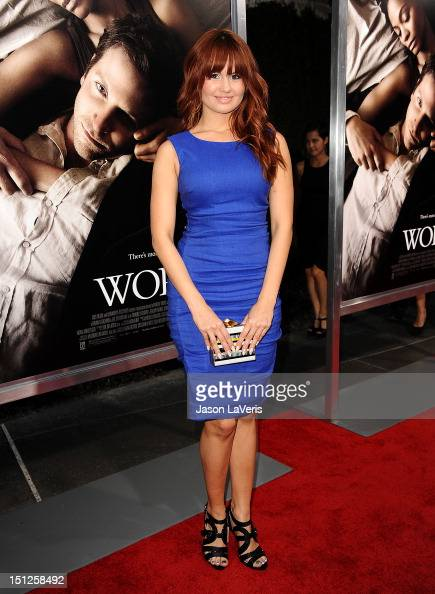 Actress Debby Ryan attends the premiere of 'The Words' at ArcLight Cinemas on September 4 2012 in Hollywood California