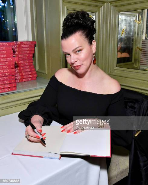 Actress Debi Mazar attends a Dinner with Debi Mazar Gabriele Corcos and Beatrice Tosti part of the Bank of America Dinner Series presented by The...
