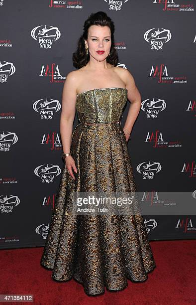 Actress Debi Mazar attends the 2015 AAFA American Image Awards on April 27 2015 in New York City