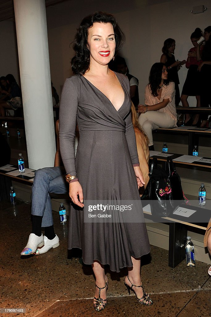 Actress Debi Mazar attends the Costello Tagliapietra fashion show during MADE Fashion Week Spring 2014 at Milk Studios on September 5, 2013 in New York City.