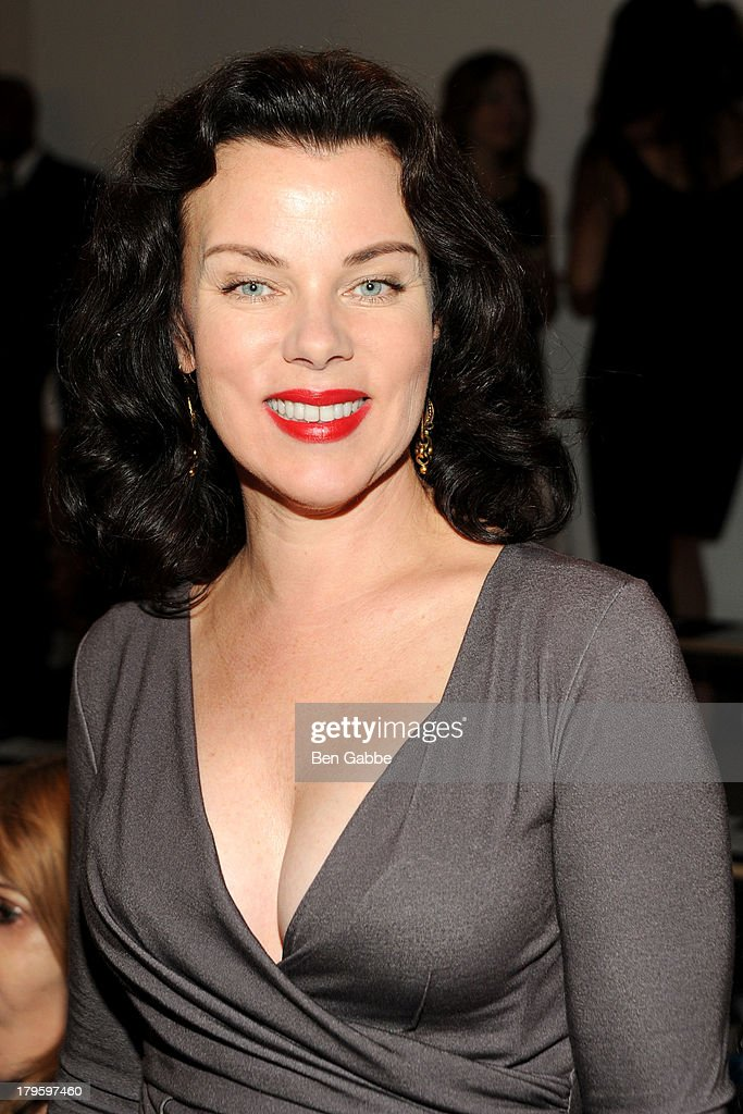 Actress <a gi-track='captionPersonalityLinkClicked' href=/galleries/search?phrase=Debi+Mazar&family=editorial&specificpeople=212937 ng-click='$event.stopPropagation()'>Debi Mazar</a> attends the Costello Tagliapietra fashion show during MADE Fashion Week Spring 2014 at Milk Studios on September 5, 2013 in New York City.