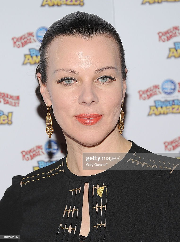 Actress <a gi-track='captionPersonalityLinkClicked' href=/galleries/search?phrase=Debi+Mazar&family=editorial&specificpeople=212937 ng-click='$event.stopPropagation()'>Debi Mazar</a> attends the Ringling Bros. and Barnum & Bailey 'Build To Amaze!' Opening Night at Barclays Center on March 21, 2013 in the Brooklyn borough of New York City.
