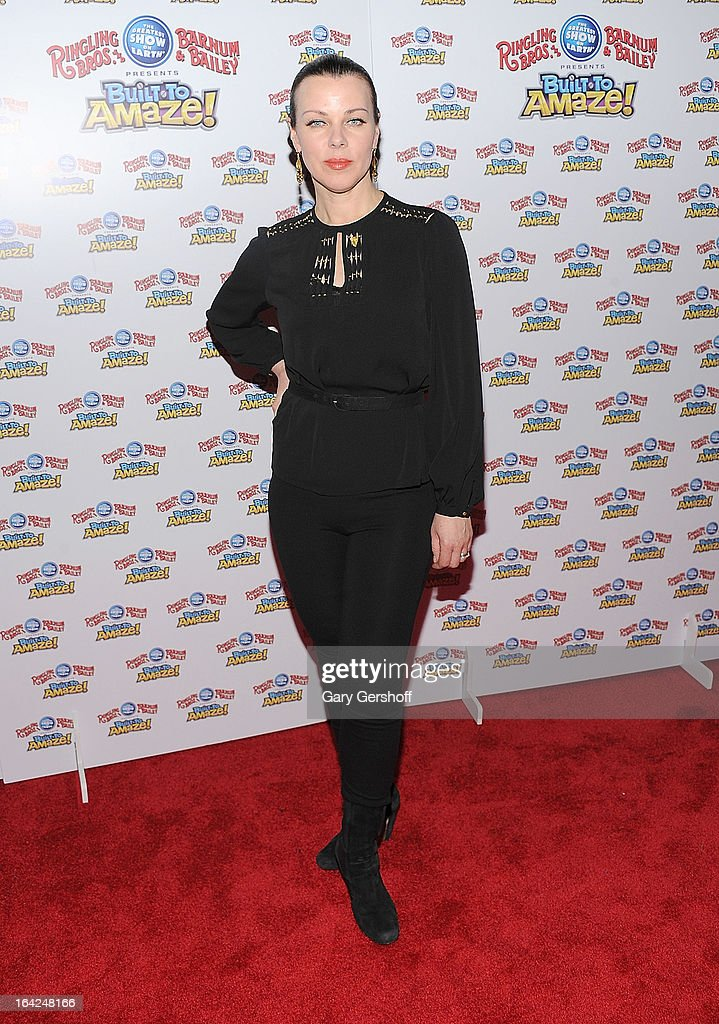 Actress Debi Mazar attends the Ringling Bros. and Barnum & Bailey 'Build To Amaze!' Opening Night at Barclays Center on March 21, 2013 in the Brooklyn borough of New York City.
