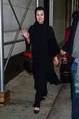 Actress Debi Mazar enters the 'Wendy Williams Show' taping at the Chelsea Studios on November 13 2012 in New York City