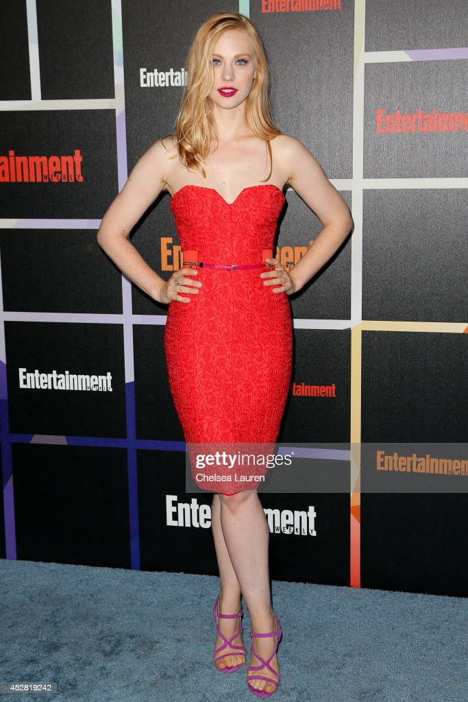 Actress Deborah Ann Woll arrives at Entertainment Weekly's Annual Comic Con Celebration at Float at Hard Rock Hotel San Diego on July 26, 2014 in San Diego, California.