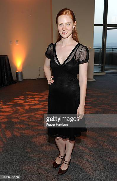 Actress Deborah Ann Woll arrives at the Nelsan Ellis Hosts HBO's 'True Blood' Crew Appreciation Party held at the The Carlyle Residences on July 3...