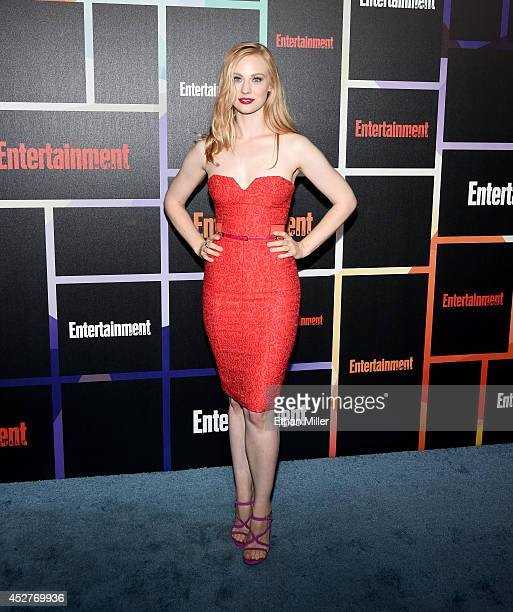 Actress Deborah Ann Woll attends Entertainment Weekly's annual ComicCon celebration at Float at Hard Rock Hotel San Diego on July 26 2014 in San...