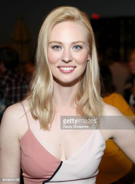 Actress Deborah Ann Woll attends the Entertainment Weekly and Marvel After Dark event at the EW Studio during ComicCon at Hard Rock Hotel San Diego...
