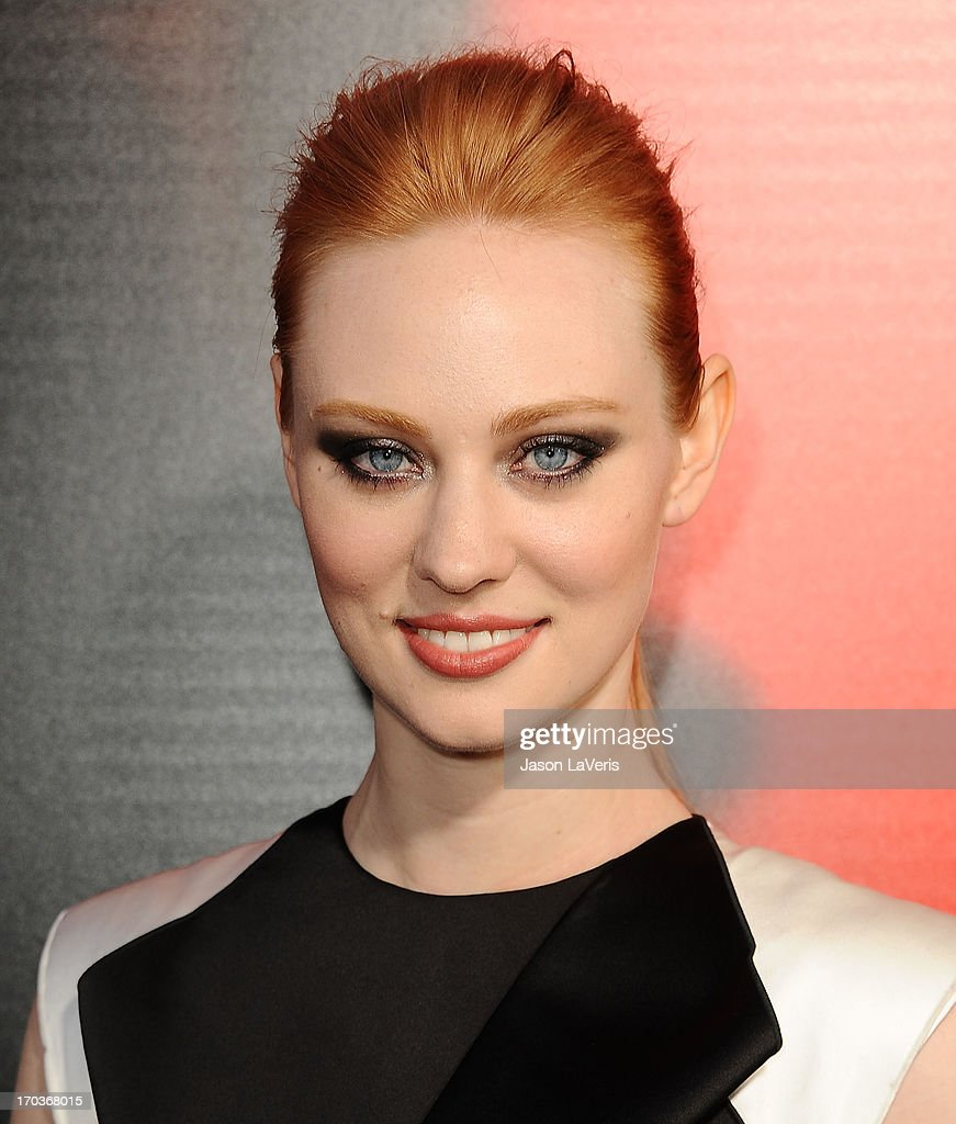 Actress Deborah Ann Woll attends the season 6 premiere of HBO's 'True Blood' at ArcLight Cinemas Cinerama Dome on June 11, 2013 in Hollywood, California.