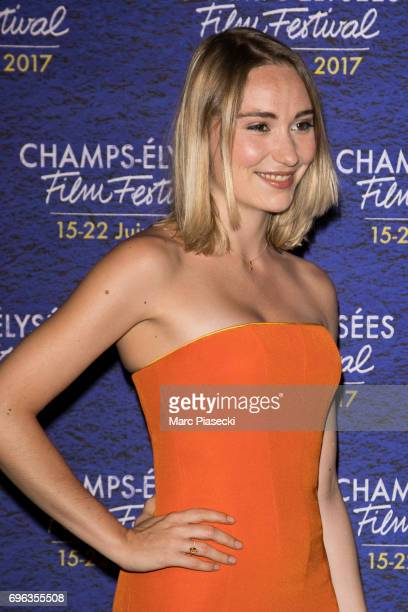 Actress Deborah Francois attends the 6th 'ChampsElysees Film Festival' at Cinema Gaumont Marignan on June 15 2017 in Paris France