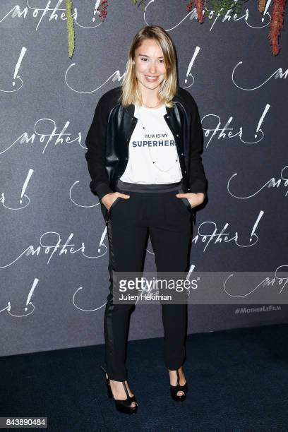 Actress Deborah Francois attends the French Premiere of 'mother' at Cinema UGC Normandie on September 7 2017 in Paris France