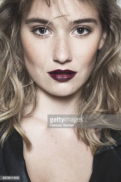Actress Deborah Francois is photographed for Self Assignment on October 10 2016 in Paris France
