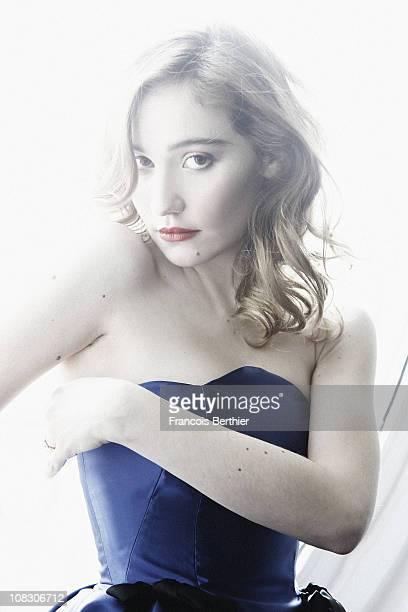 Actress Deborah Francois poses at a portrait session in January 2011 in Paris Unpublished image