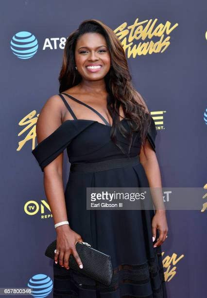 Actress Deborah Joy Winans arrives at the 32nd annual Stellar Gospel Music Awards at the Orleans Arena on March 25 2017 in Las Vegas Nevada