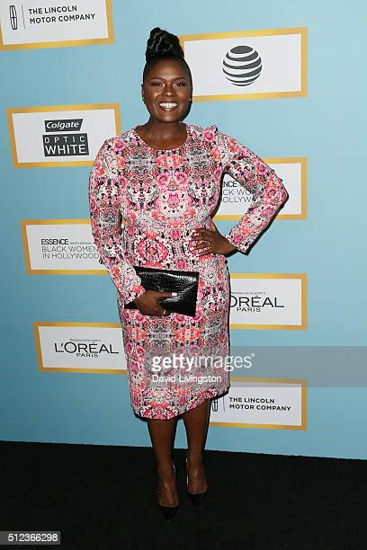 Actress Deborah Joy Winans arrives at the Essence 9th Annual Black Women event in Hollywood at the Beverly Wilshire Four Seasons Hotel on February 25...