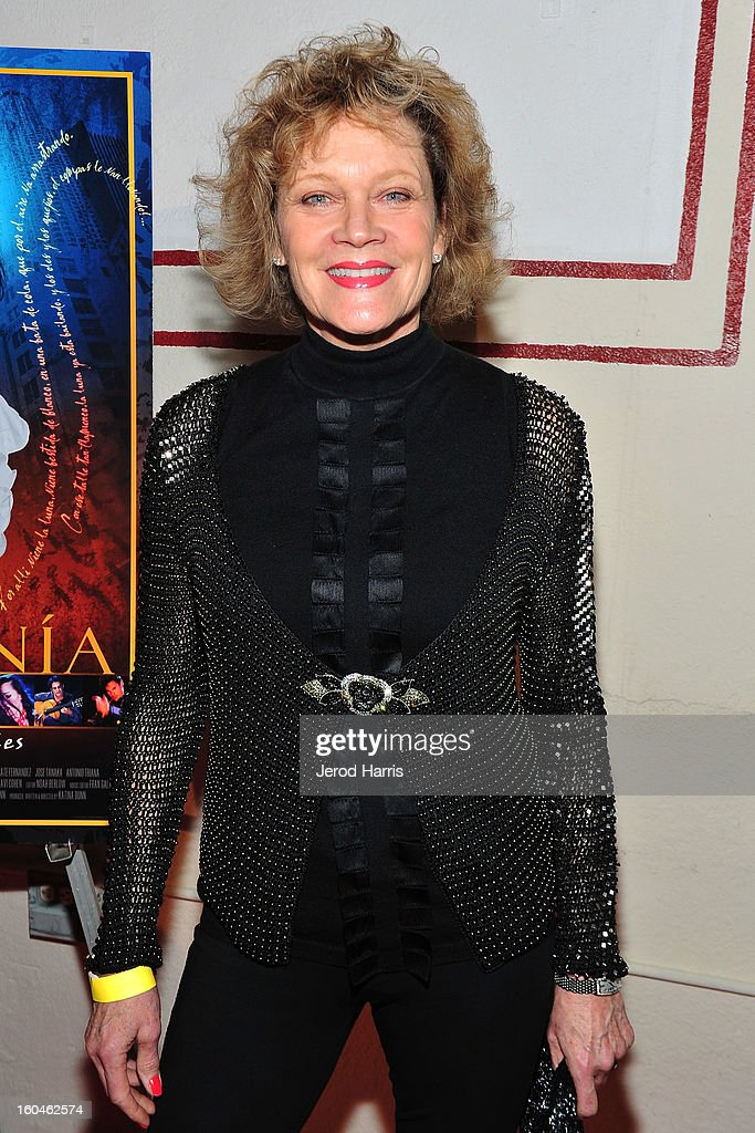 Actress Deborah May arrives at the premiere of 'Kumpania: Flemenco Los Angeles' at El Cid on January 31, 2013 in Los Angeles, California.