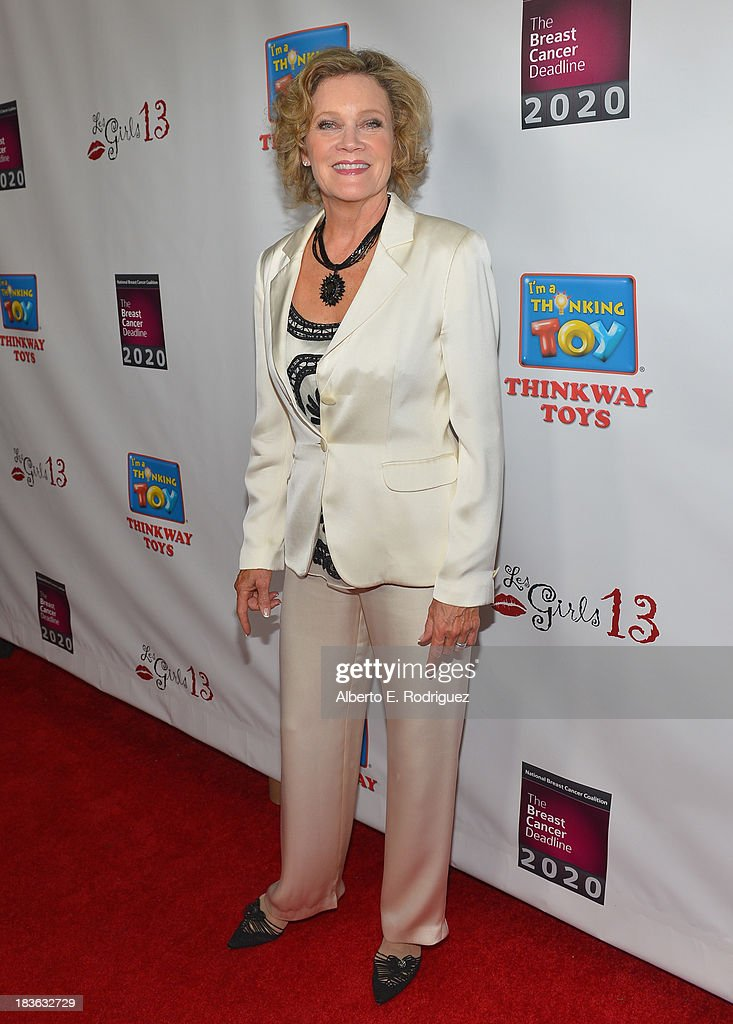 Actress Deborah May attends The National Breast Cancer Coalition Fund presents The 13th Annual Les Girls at the Avalon on October 7, 2013 in Hollywood, California.