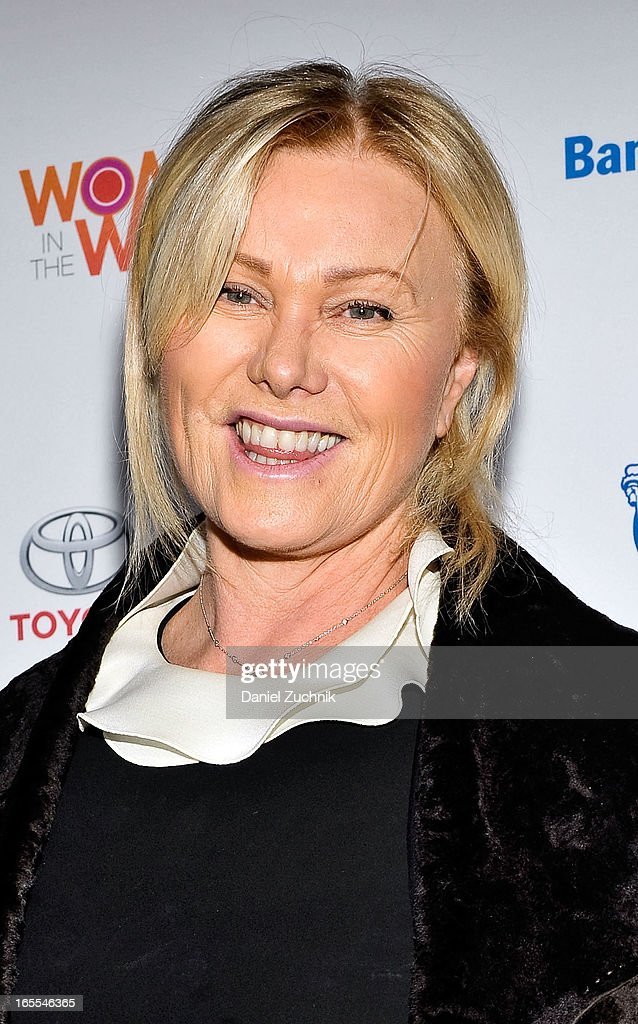 Actress Deborra-Lee Furness attends the Women in the World Summit 2013 on April 4, 2013 in New York, United States.