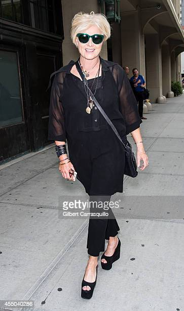 Actress DeborraLee Furness is seen at Donna Karan New York during MercedesBenz Fashion Week Spring 2015 at 547 West 26th Street on September 8 2014...