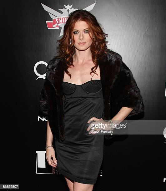 Actress Debra Messing attend the 2008 Tribeca Film Institute Fall Benefit screening of 'Quantum of Solace' at the AMC Lincoln Square theatre on...