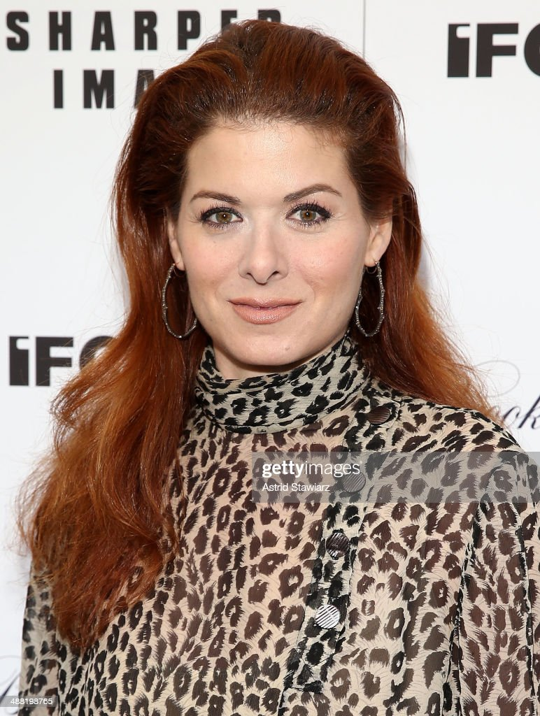 Actress Debra Messing attends 'God's Pocket' screening at IFC Center on May 4, 2014 in New York City.