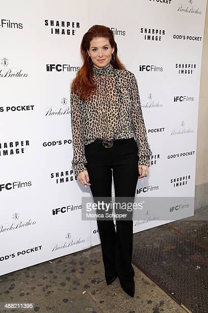 Actress Debra Messing attends 'God's Pocket' screening at IFC Center on May 4 2014 in New York City