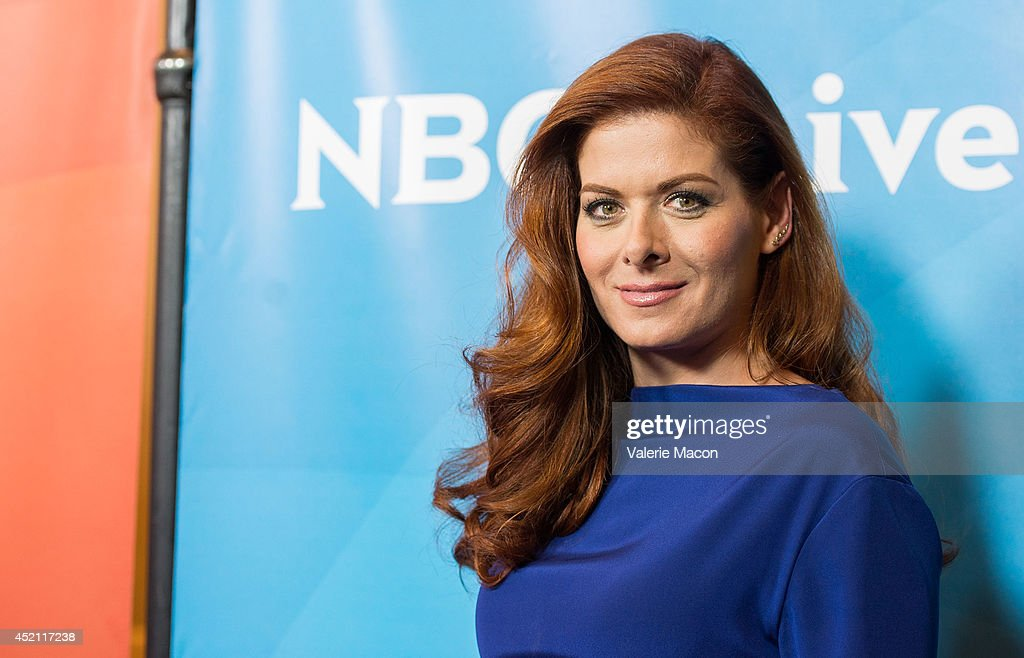 Actress <a gi-track='captionPersonalityLinkClicked' href=/galleries/search?phrase=Debra+Messing&family=editorial&specificpeople=202114 ng-click='$event.stopPropagation()'>Debra Messing</a> attends NBCUniversal's 2014 Summer TCA Tour - Day 1 at The Beverly Hilton Hotel on July 13, 2014 in Beverly Hills, California.