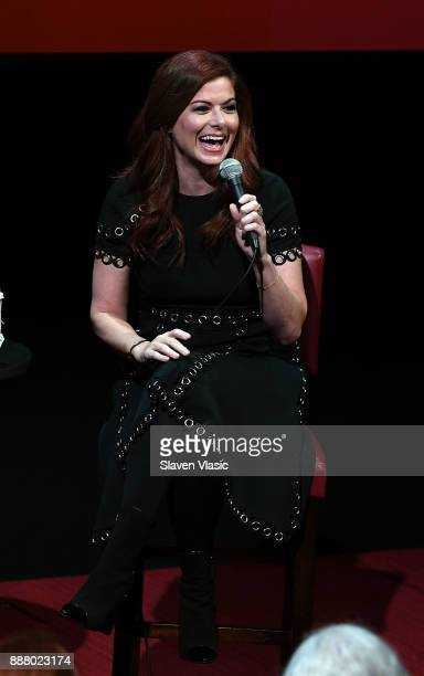 Actress Debra Messing attends SAGAFTRA Foundation Conversations 'Will Grace' with Debra Messing at The Robin Williams Center on December 7 2017 in...