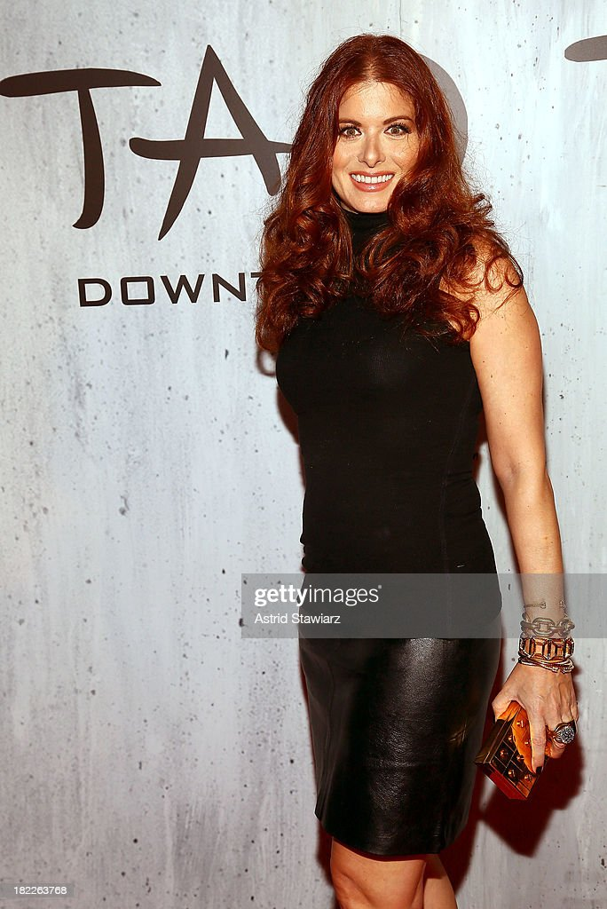 Actress Debra Messing attends TAO Downtown Grand Opening on September 28, 2013 in New York City.