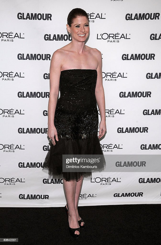 Actress Debra Messing attends the 2008 Glamour Women of the Year Awards at Carnegie Hall on November 10, 2008 in New York City.