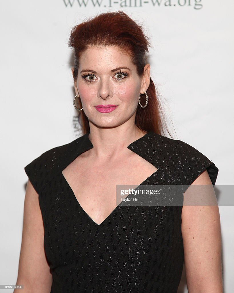 Actress <a gi-track='captionPersonalityLinkClicked' href=/galleries/search?phrase=Debra+Messing&family=editorial&specificpeople=202114 ng-click='$event.stopPropagation()'>Debra Messing</a> attends the 2013 Eugene O'Neill Lifetime Achievement Award gala at The Manhattan Club at Rosie O'Grady's on October 21, 2013 in New York City.
