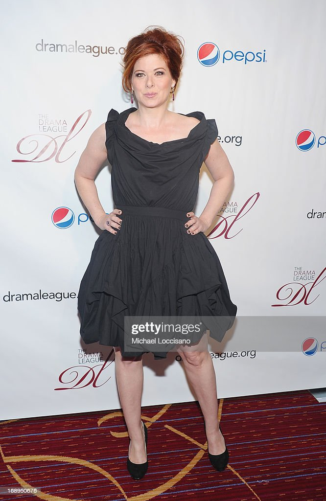Actress Debra Messing attends the 79th Annual Drama League Awards Ceremony And Luncheon at Marriott Marquis Hotel on May 17, 2013 in New York City.