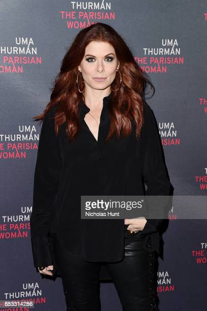 Actress Debra Messing attends the broadway opening night of 'The Parisian Woman' at The Hudson Theatre on November 30 2017 in New York City