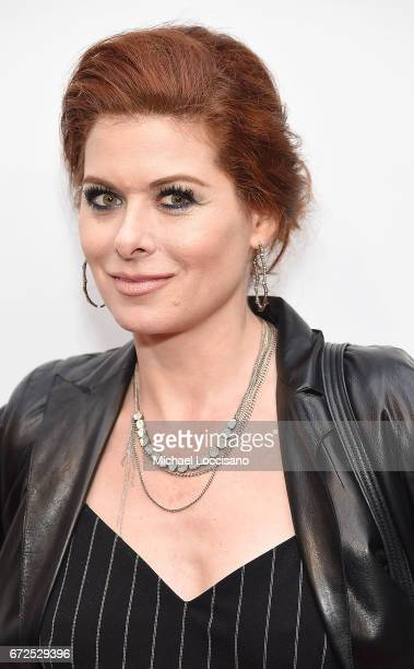 Actress Debra Messing attends the HBO Documentary screening of 'I Am Evidence' at SVA Theatre on April 24 2017 in New York City