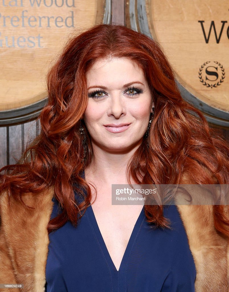 Actress Debra Messing attends 'Toast Around The World' Celebration at New York Sheraton Hotel & Tower on May 15, 2013 in New York City.