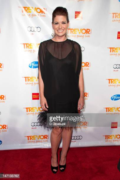 Actress Debra Messing attends 'Trevor Live' hosted by the Trevor Project at Chelsea Piers on June 25 2012 in New York City