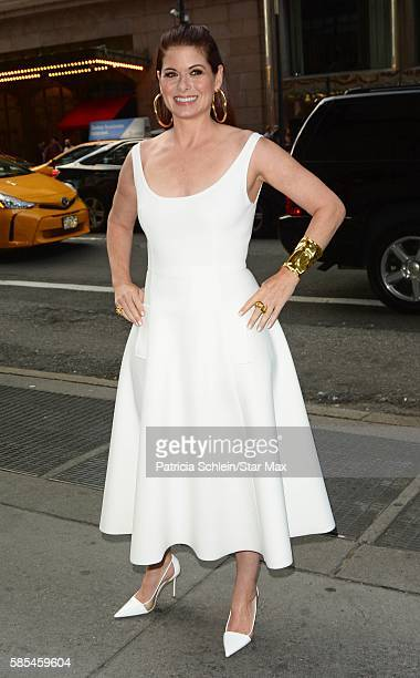 Actress Debra Messing is seen on August 2 2016 in New York City