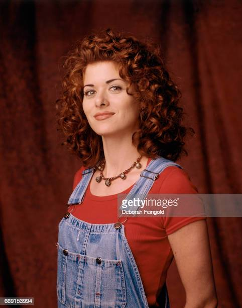 Actress Debra messing poses for a portrait in 1995 in Los Angeles California