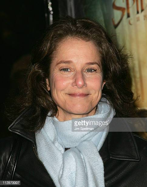 Actress Debra Winger arrives at the 'The Spiderwick Chronicles' Premiere at the AMC Lincoln Square on February 4 2008 in New York City