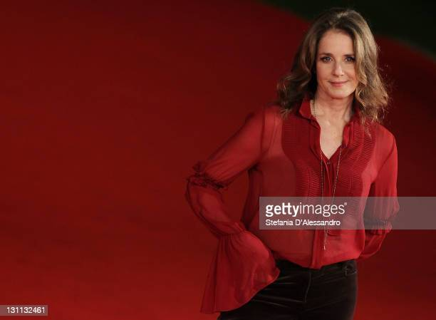 Actress Debra Winger attends International Jury Photocall during 6th International Rome Film Festival on November 1 2011 in Rome Italy