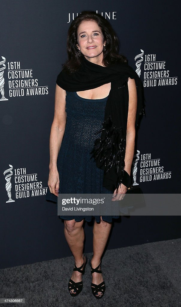 Actress Debra Winger attends the 16th Costume Designers Guild Awards with presenting sponsor Lacoste at The Beverly Hilton Hotel on February 22, 2014 in Beverly Hills, California.