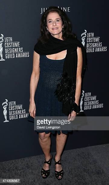 Actress Debra Winger attends the 16th Costume Designers Guild Awards with presenting sponsor Lacoste at The Beverly Hilton Hotel on February 22 2014...